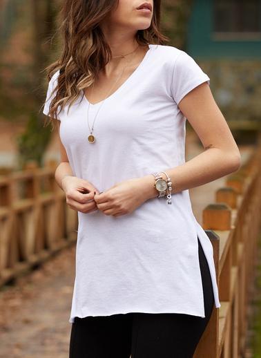 XHAN Tişört Beyaz